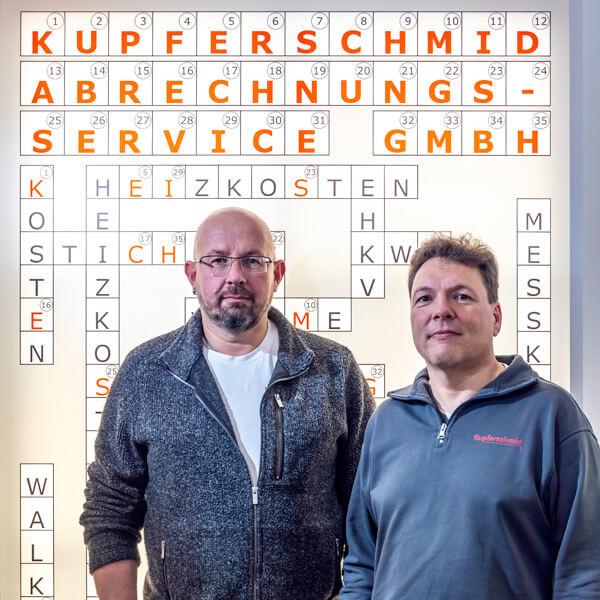 Geschäftsführung Uwe Kupferschmied und Alexander Oesterle